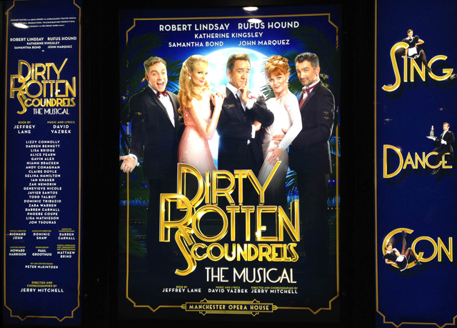 London theatre break with train travel, Holiday Inn Regent's Park & tickets to Dirty Rotten Scoundrels - save 24%