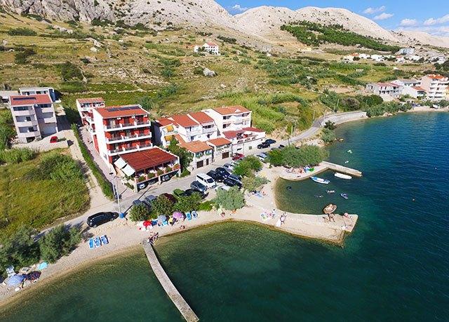Penzion Laguna, Metajna, ostrov Pag, Chorvatsko - save 25%