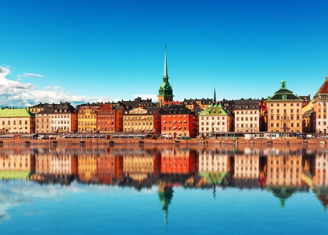 Explore the colourful capitals of the Baltics & Scandinavia