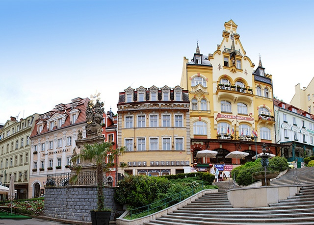 Hotel Heluan & Ester****, Karlovy Vary - save 54%