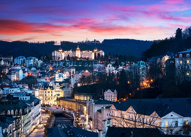 Spa Resort Sanssouci****, Karlovy Vary - save 56%