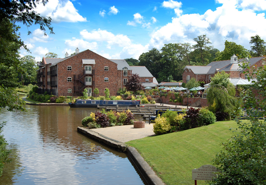 Lion Quays Waterside Resort, Oswestry, Shropshire - save 28%