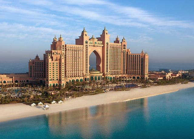 5* iconic Dubai holiday with helicopter ride & desert safari