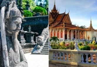 Combiné de 12 nuits au Cambodge et au Vietnam, À la découverte des temples d'Angkor et du Dragon de Jade - save 43% - Siem Reap -